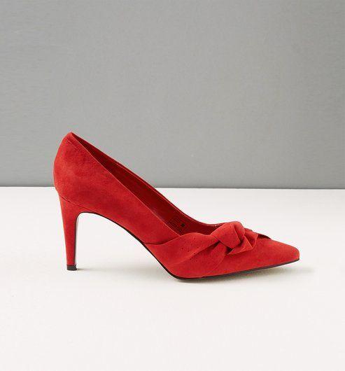 Promod Zapatos con tacón Rojo 7M18e