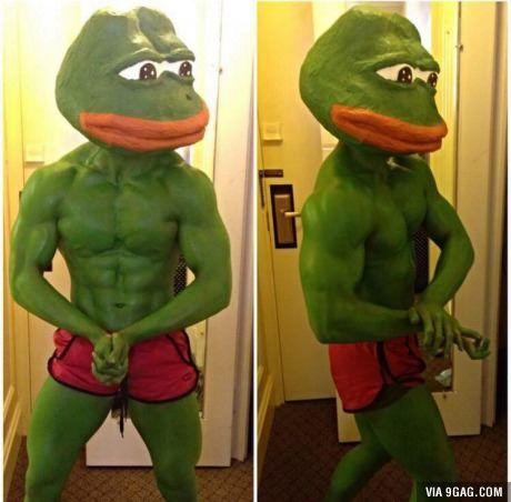 Rare Pepe Costume 9gag Halloween Pinterest Memes Funny And