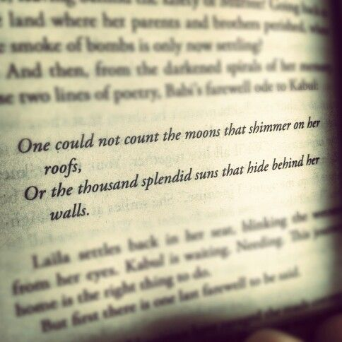 A thousand splendid suns Essay Sample