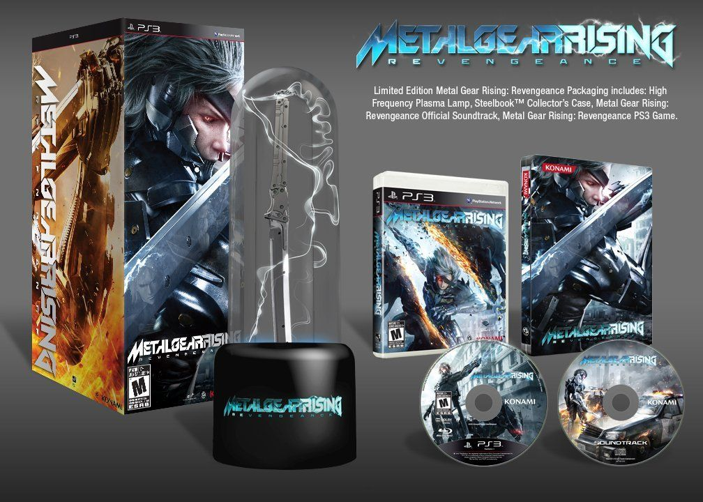 Metal Gear Rising Revengeance Limited Edition Playstation 3