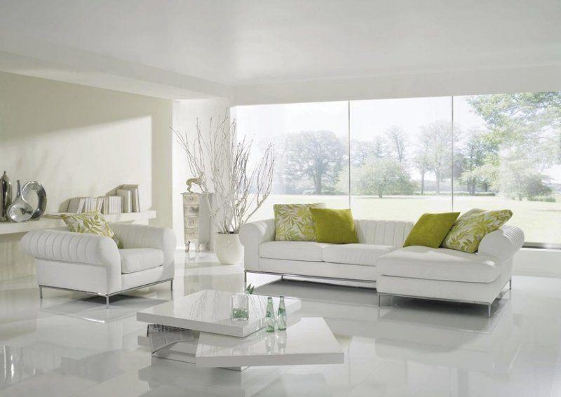 wineo laminat color hochglanz weiß 1-stab diele | böden/laminat ... - Wohnzimmer Fliesen Weis