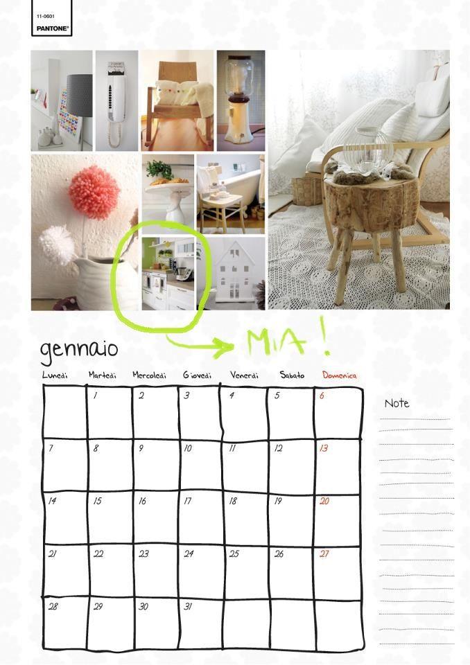 Calendario Casa Facile. Ci sono anche io :D