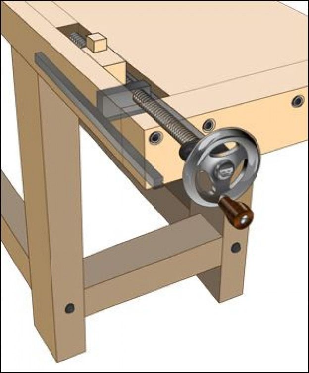 Benchcrafted Tail Vise Hardware - Lee