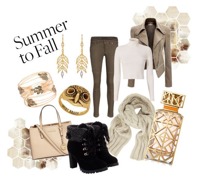 """""""Summer To Fall"""" by violalynx on Polyvore featuring Marc O'Polo, A.L.C., John Lewis, Cathy Waterman, Michael Kors, Lucky Brand, Tory Burch and Atelier Mon"""