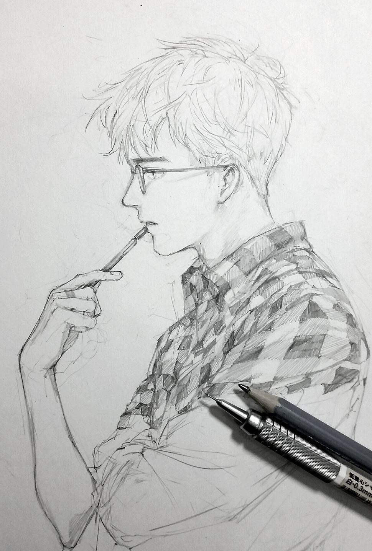 Pin by Anushka Saha on Art Anime drawings sketches
