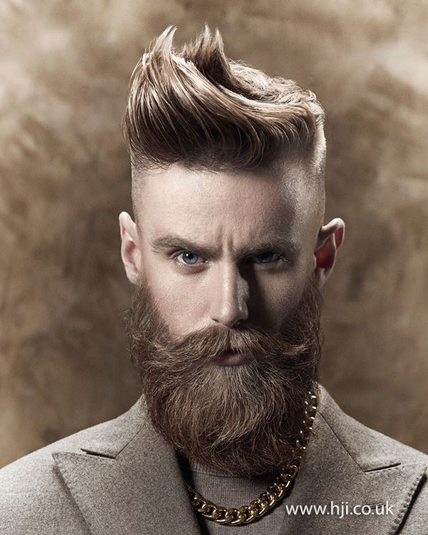 2015 point cut textured top with tapered sides - Hairstyle ...