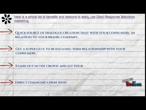 Benefits of Direct Response Advertising