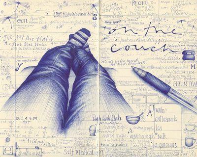 Beautiful Sketchbook Page!