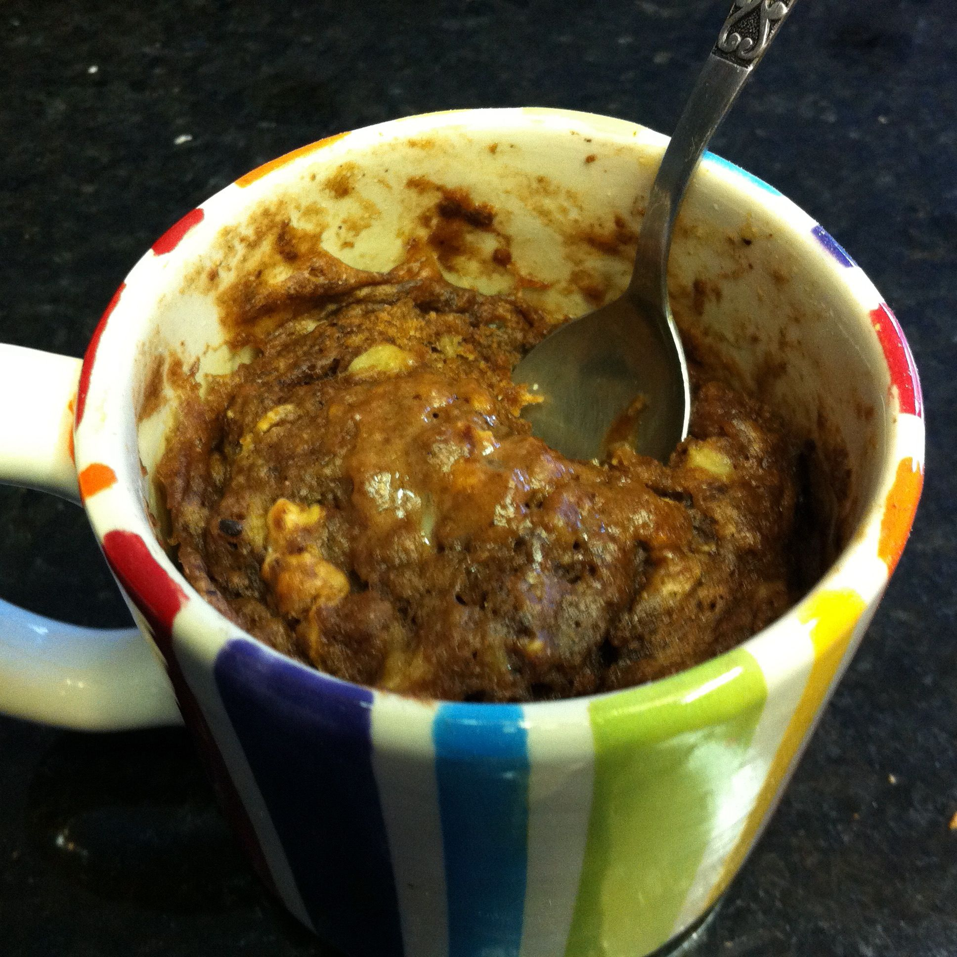 Mug Cake Microwave Healthy Clean Eating Low Carb