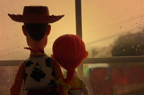 Woody and Jess. Pals. Toy Story