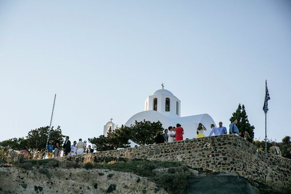 Saint Mark 's church in Santorini #santorinichurch #islandchurch  See more: http://www.love4weddings.gr/santorini-romantic-wedding/