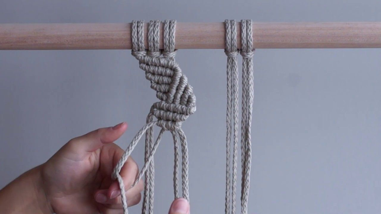 DIY Macrame Tutorial - Zig Zag Patterns