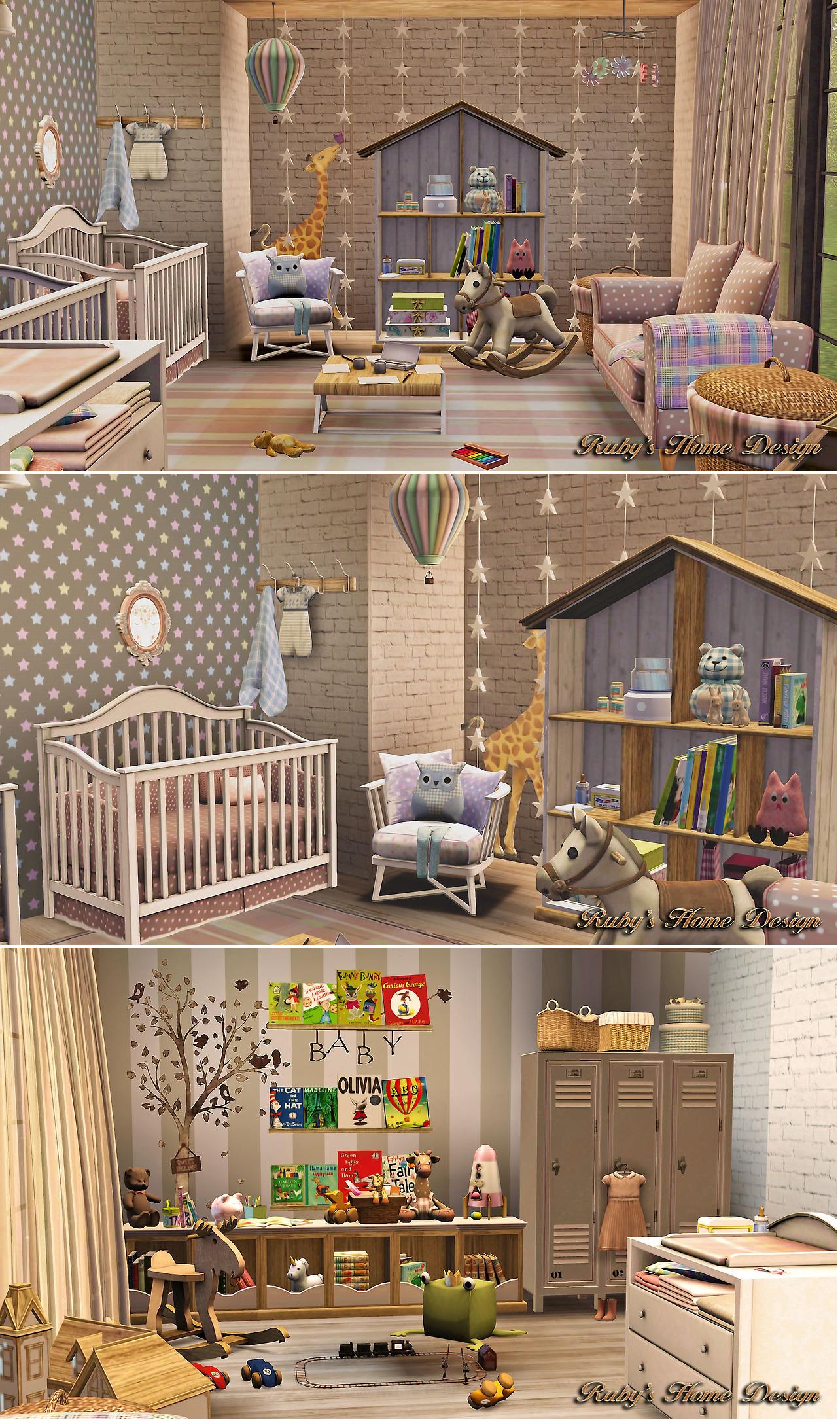 sims 4 baby boy nursery the sims 4 pinterest sims nursery