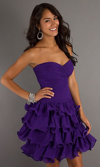 1000  images about Purple Party Dresses on Pinterest  Woman ...