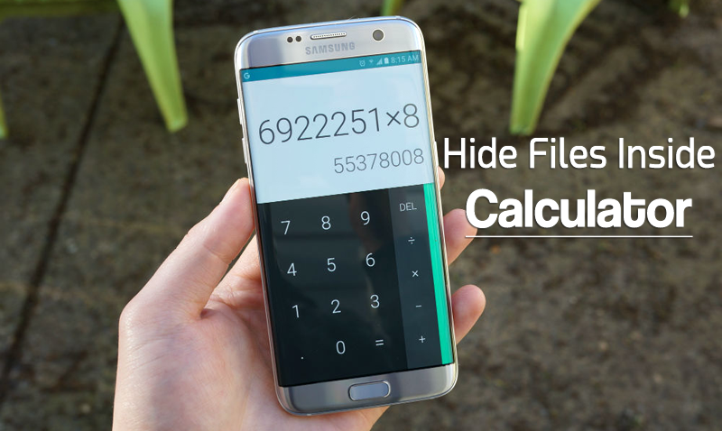 How To Hide Files and Folders Inside Calculator On Android