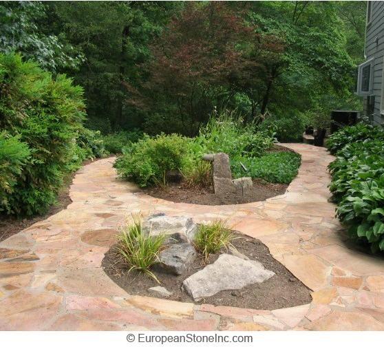 Walkway Designs And Patio Designs | Tennessee Flagstone Walkways   Patios?