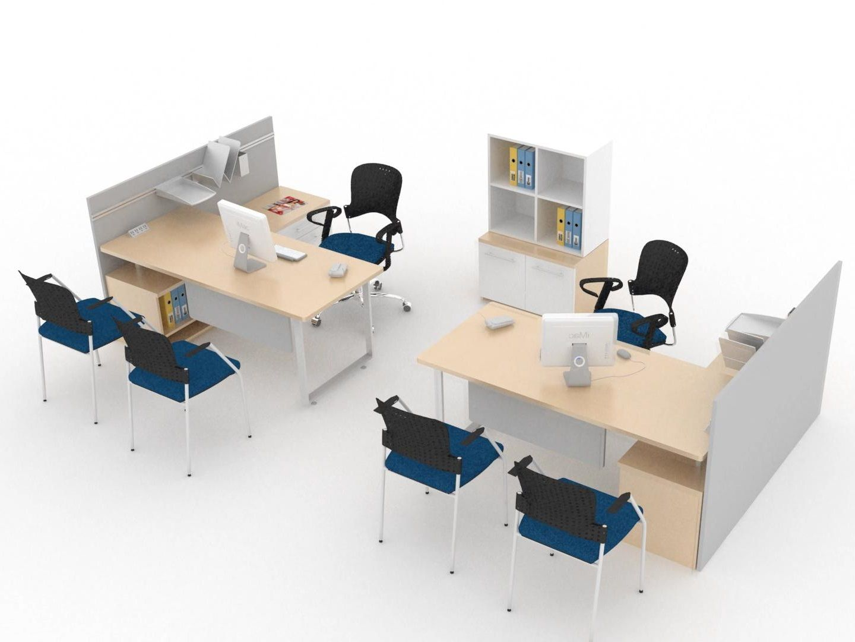Sistemas modulares para oficina l nea flex muebles for Diseno de muebles de oficina modernos