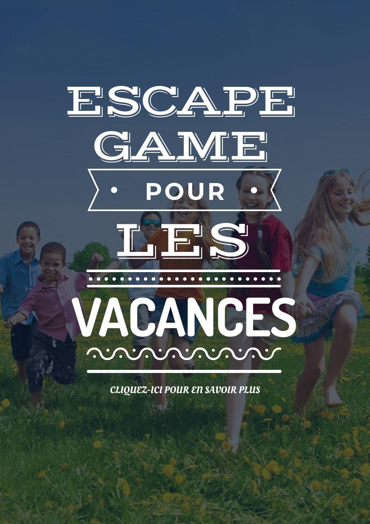 Organisez Un Escape Game Pendant Les Vacances Vacances Fun Plage Ete Piscine Soleil Escapekit Escaperoom Escapegame Vacances Jeux Ado Jeux De Plage