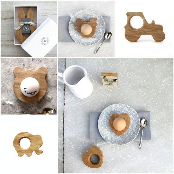 lustige eierbecher aus holz ostergeschenke hop peck ostereier halter ostern p ske easter. Black Bedroom Furniture Sets. Home Design Ideas