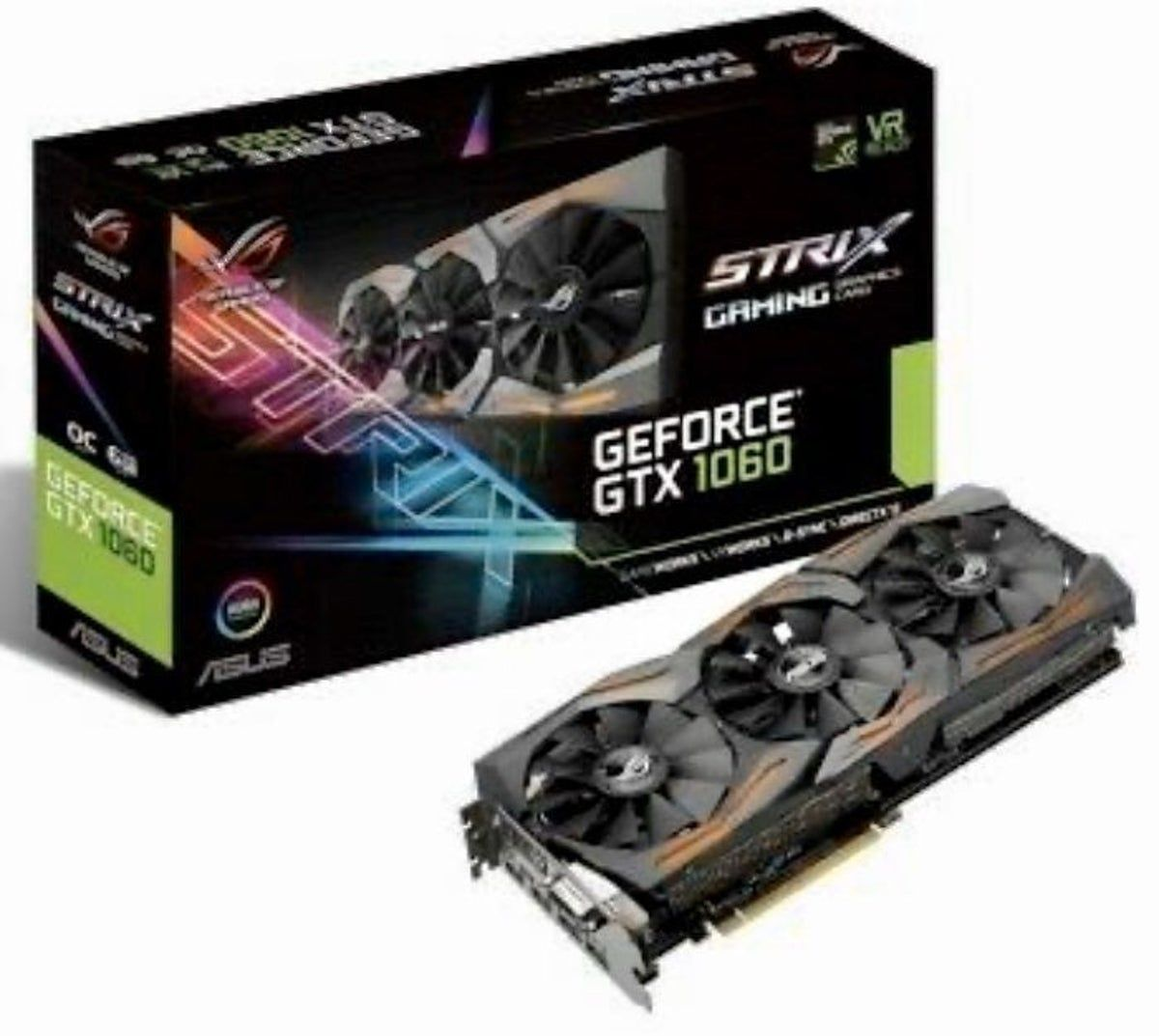 Asus Rog Strix Video Card Geforce1060 Graphic Card Asus Asus Rog