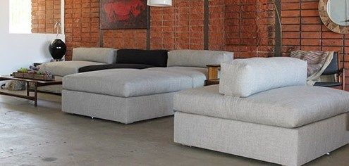 Bauhaus Modular sofa sectional #sofa#modular#Bauhaus#form#functional#comfortable#Linen#color-block#los-angeles#decor#design#custom#madeinUSA