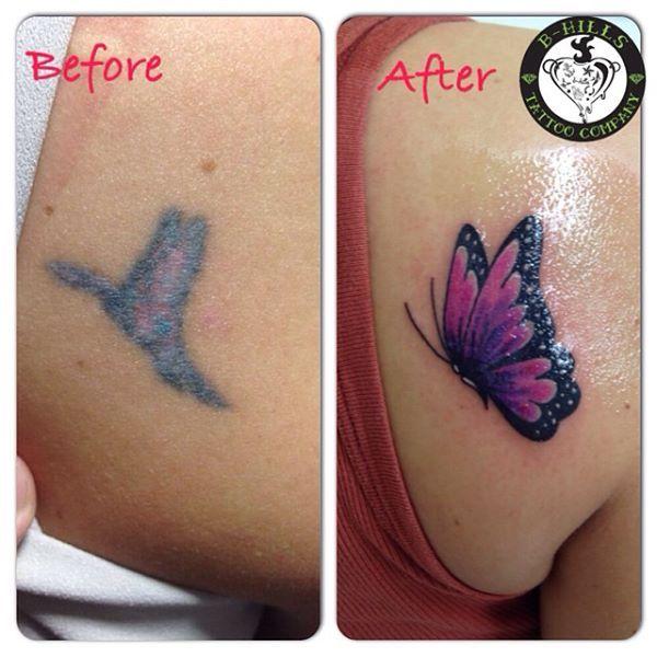 #Coveruptattoo #elettrodermografo #Bhillstattoo #Butterflytattoo #Tattoo #colortattoo #Ink #Larabhills #Tattooartist #laraladyoktopustattooartist