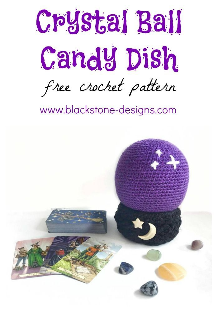 Crystal Ball Candy Dish pattern by Sonya Blackstone | Our Favorite ...