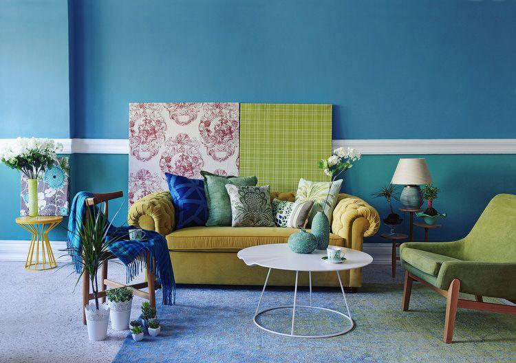 45 Bunte Wohnzimmer | Wohnzimmer Ideen | Welche farbe ...