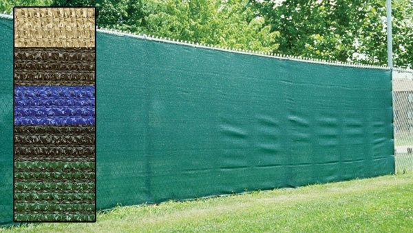 Fence Privacy Screen Cover Mesh Windscreen Shade Cloth