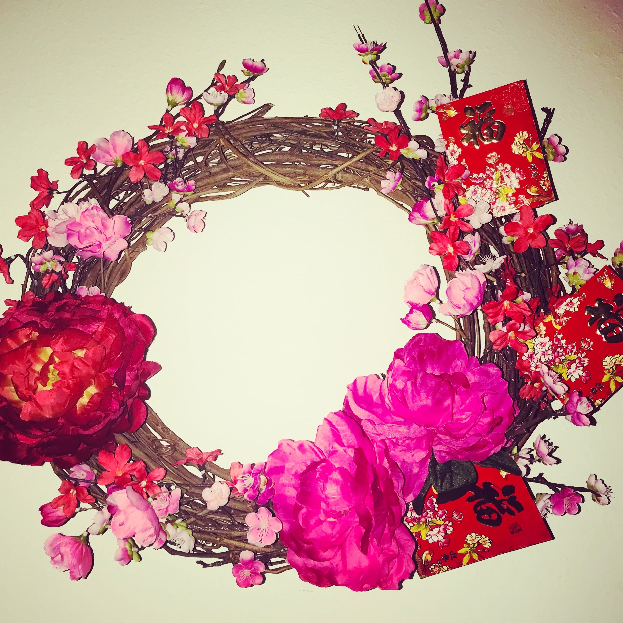 Chinese New Year Tết Lunar New Year Wreath TET