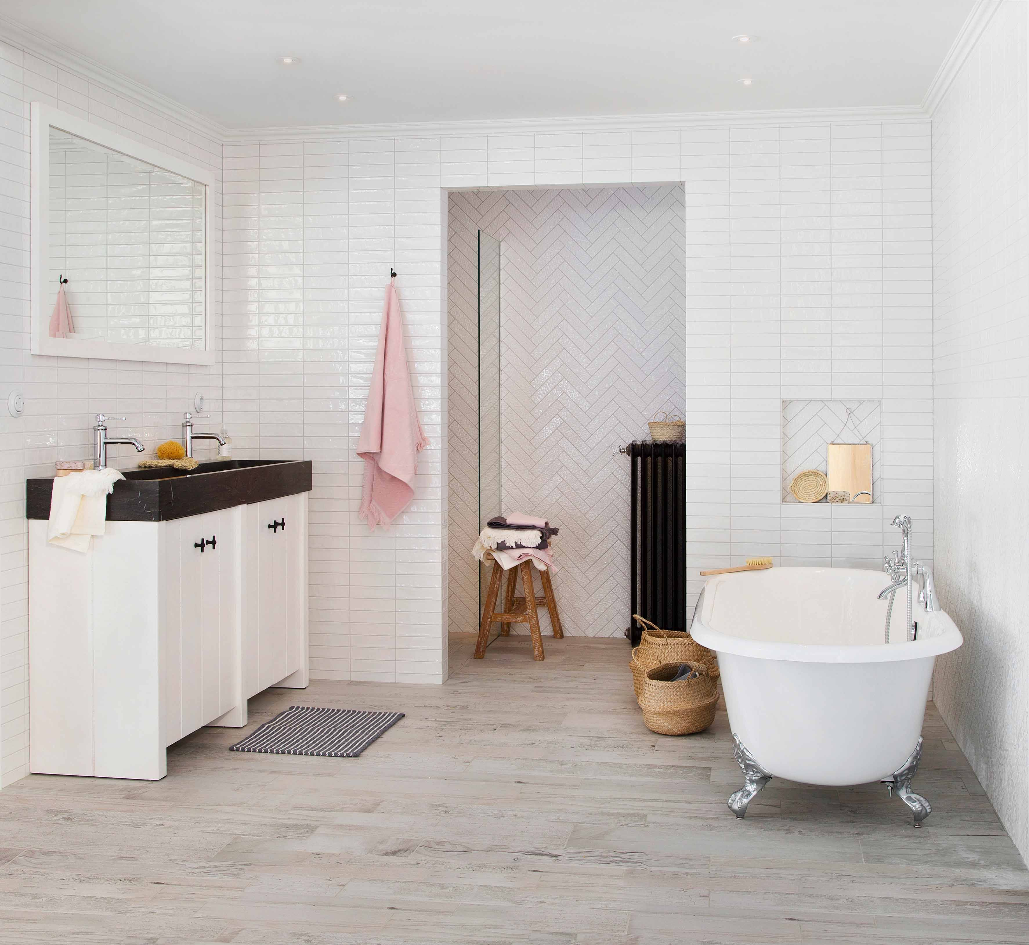 Deze unieke Ariadne at Home badkamer is het resultaat van een ...