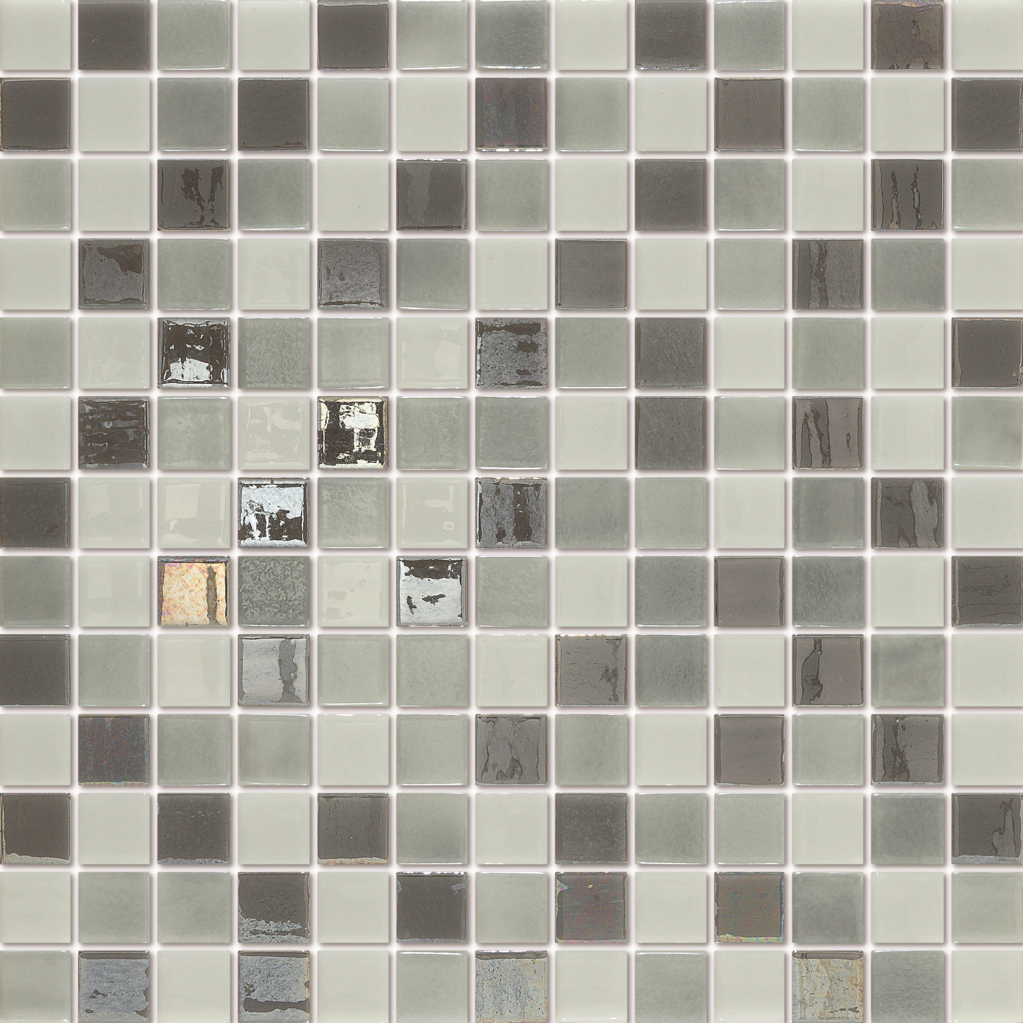 Emaux De Verre Salle De Bain ~ emaux de verre togama boston m lange blanc et gris salle de bain