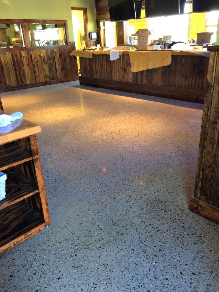 Stained Concrete Epoxy Flooring Little Rock Fort