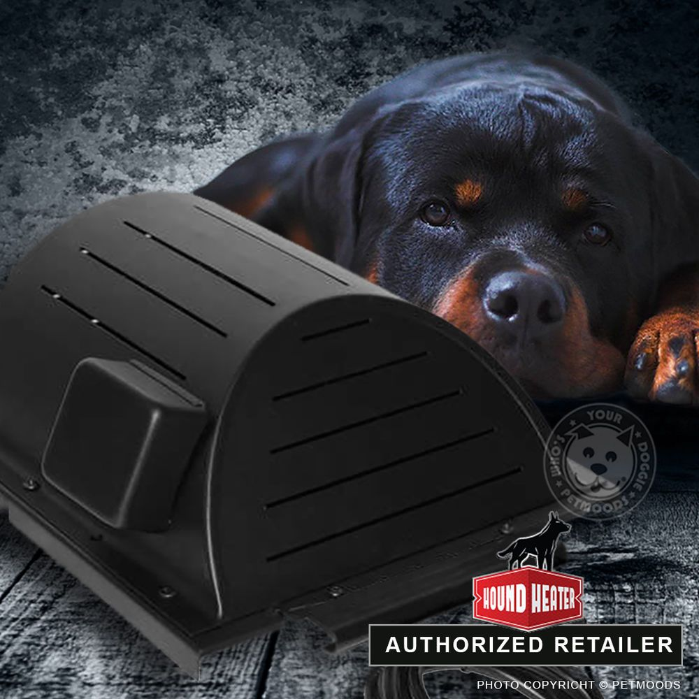 Details About Akoma Hound Heater Furnace Heated Dog House Kennel