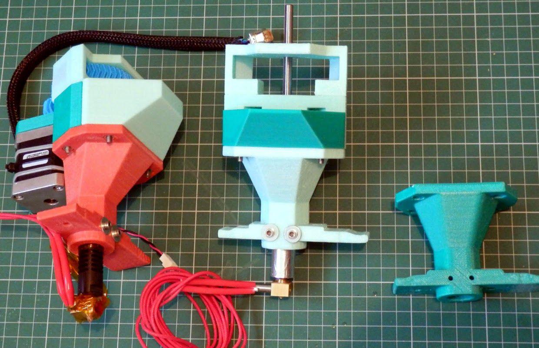 Reprap Universal Plastic Pellet Extruder Project 3d Printing 3d Printing Diy Multiple Materials