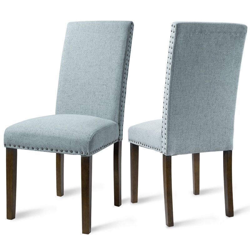 Robbe Upholstered Dining Chair In 2020 Fabric Dining Chairs