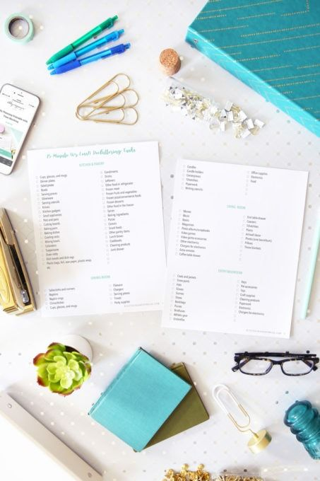 350+ Categories You Can Declutter in 15 Minutes or Less is part of Free printables organization, Declutter, Free organization, Free printables, Organization printables, Printable calendar pages - Grab your free printable checklist of 350+ categories in your home that you can declutter in 15 minutes or less, and make the most of your margins!