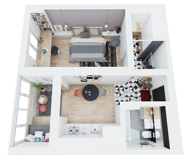 Kleine Wohnung Einrichten   Entdecken Sie Die Vorteile Der Kleinen Wohnung  Und Lernen Sie, Wie