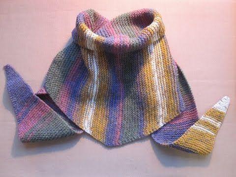 Download Video шарф бактус вязание спицами для начинающих видео