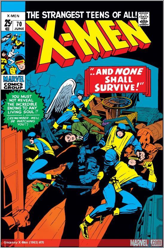 Uncanny X Men 1963 70 Comics Marvel Comics Covers Marvel Comic Books