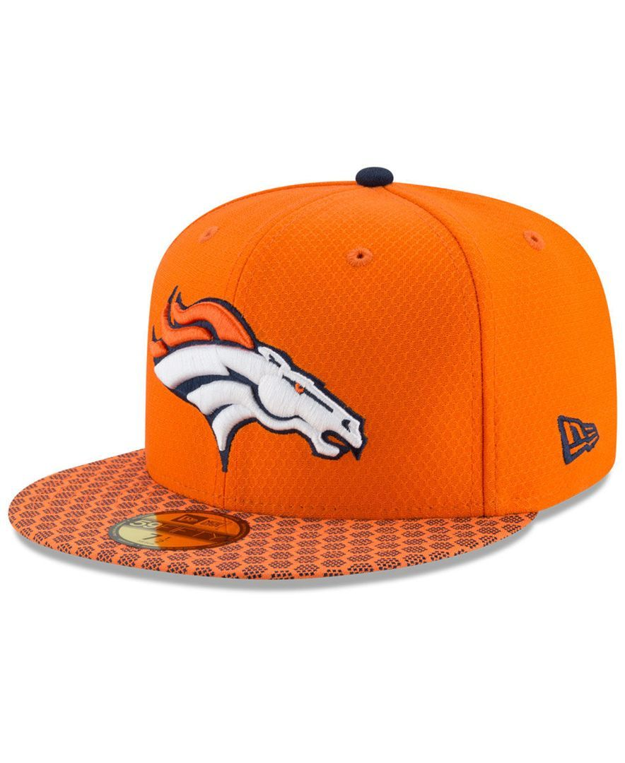 big sale 37329 08dab New Era Boys  Denver Broncos Sideline 59FIFTY Fitted Cap