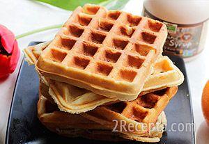 Рецепт вкусных вафель для электровафельницы пошагово 12