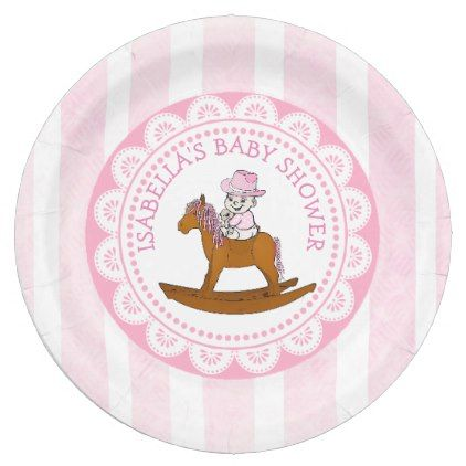 Personalized cowgirl baby shower paper plates country gifts personalized cowgirl baby shower paper plates country gifts style diy gift ideas negle Images