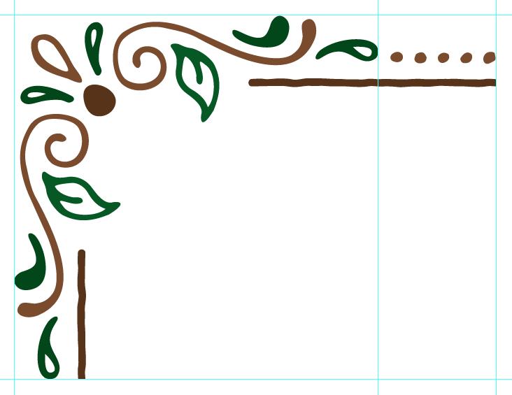 Create A Pattern Brush In Illustrator Page Borders Design Boarder Designs Clip Art Borders