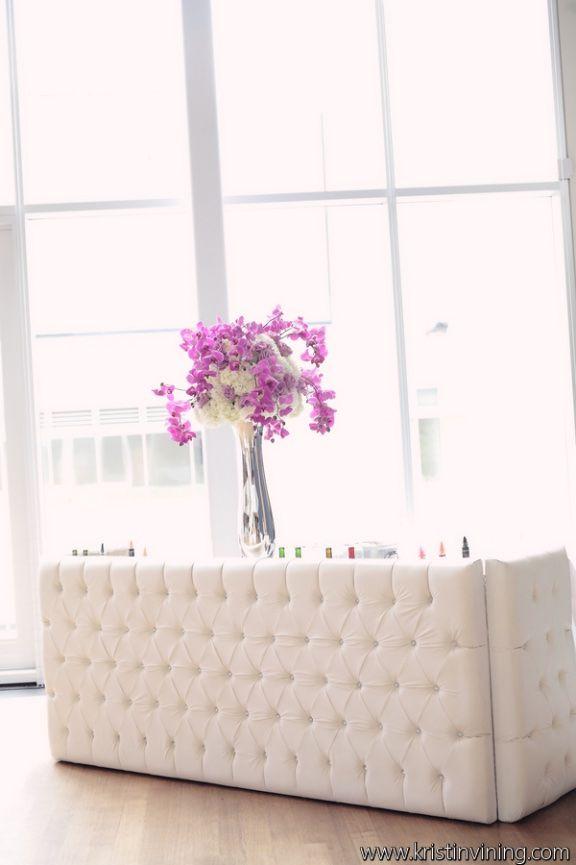 Crystal Bar AFR Furniture Rentals #afrevents