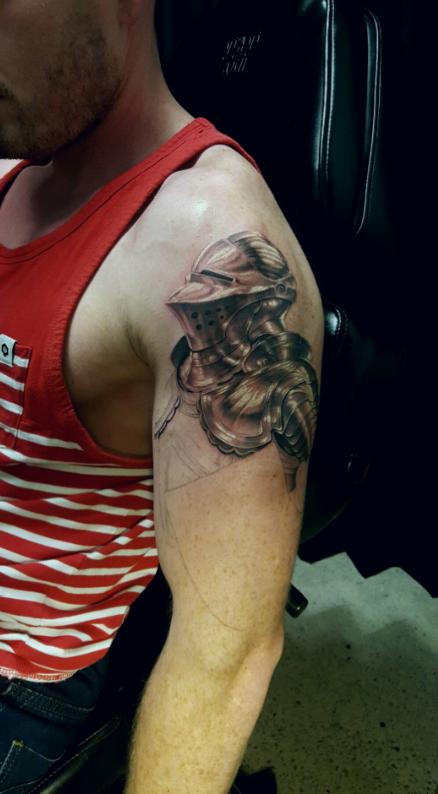 Chronic Ink Tattoos Toronto Tattoo Shop: Toronto Tattoo Knight Tattoo Done By
