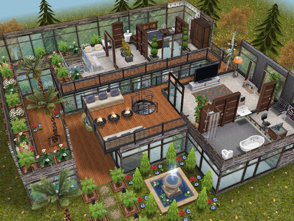 House 58 level 2 #sims #simsfreeplay #simshousedesign | Sims ...