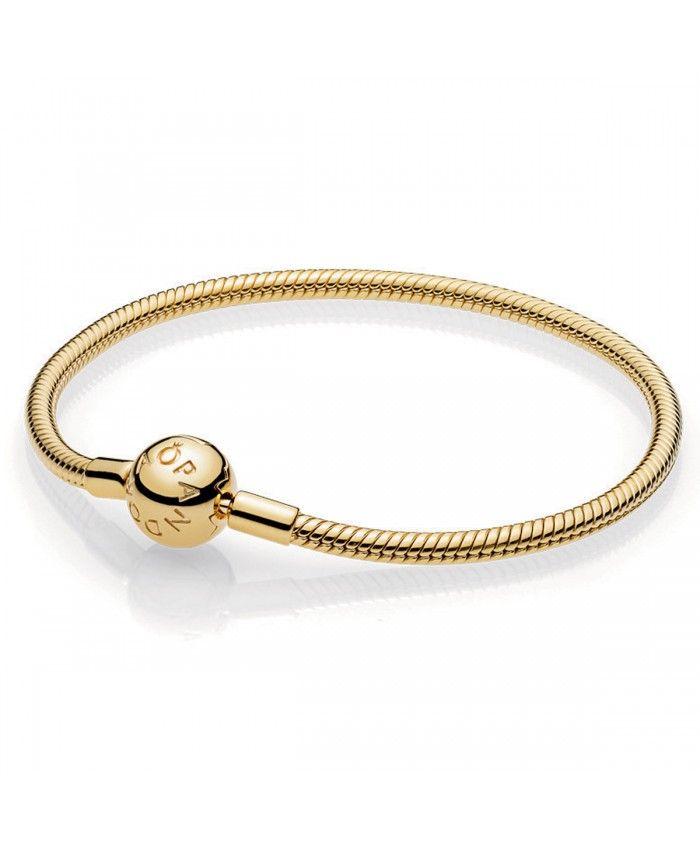 Pandora Shine avec Fermoir Bracelet Moments Lisse   Bracelet sale ...