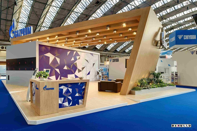 Exhibition Stand Revit : Exemplo menos inovador mas quot clean considerando o nosso