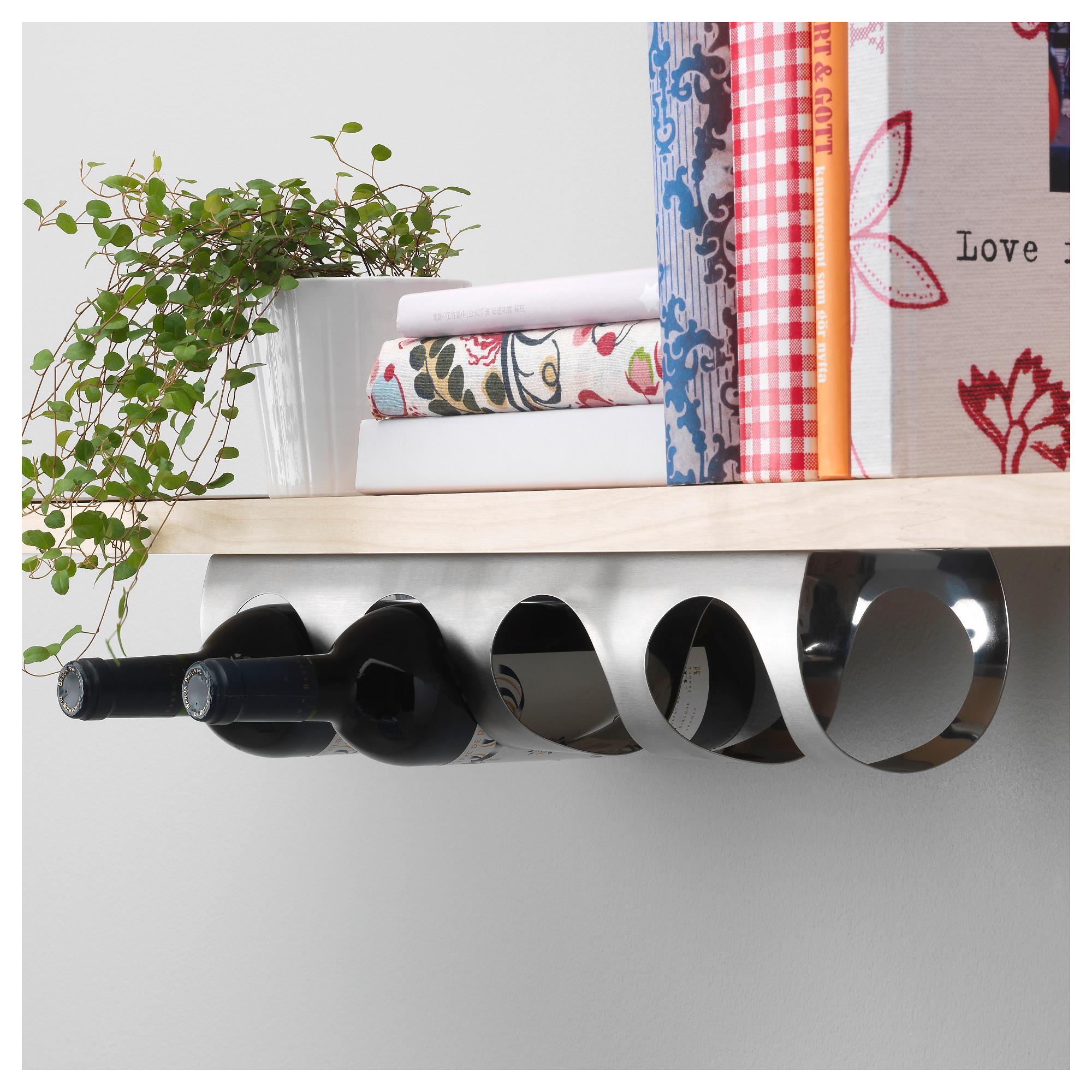 IKEA VURM 4bottle wine rack stainless steel Products